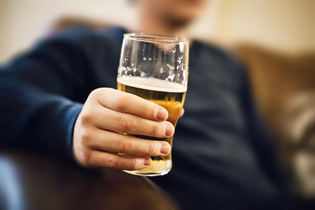 Some people may experience night sweats after drinking alcohol.