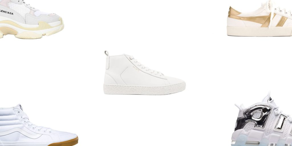 Style and beauty | 26 Pairs of White Sneakers That Go With
