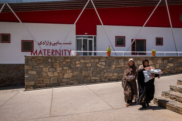 Women travel for miles over rough roads through treacherous territory to give birth at the Anabah Maternity Center.