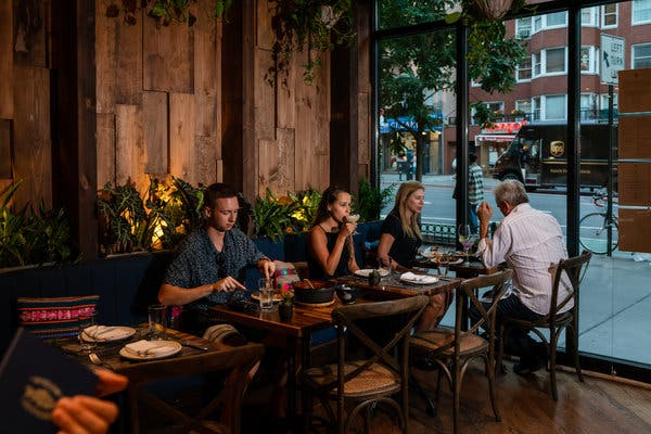 Mission Ceviche began with two counters in Manhattan food markets. The Upper East Side location is its first sit-down restaurant.