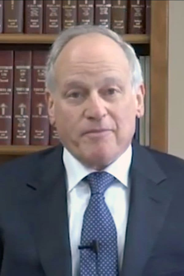 Richard Sackler, former chairman and president of Purdue Pharma, in a screengrab taken from a 2015 video deposition.