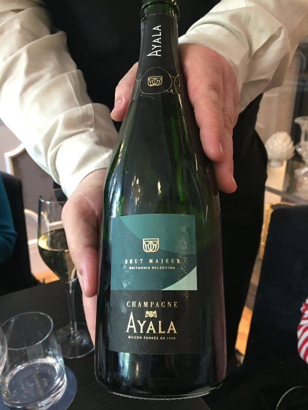 The Brittania Hotel in Trondheim, Norway, marked its reopening with a brut Champagne blended for the property by Caroline Latrive, a cellar master at Champagne Ayala in France.